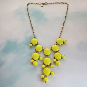 J.Crew Necklace Small Green Faceted Bubble